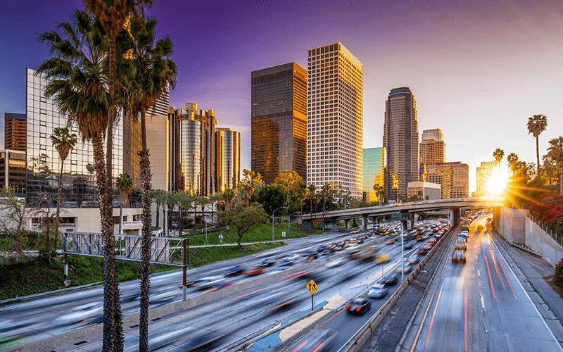 Los Angeles us car import
